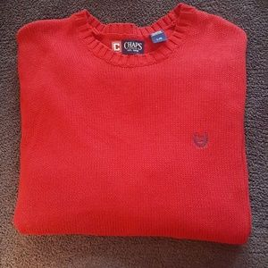 CHAPS Red Men's Sweater